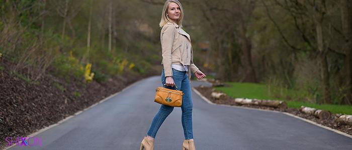 چگونه شلوار جین جذب بپوشید ؟