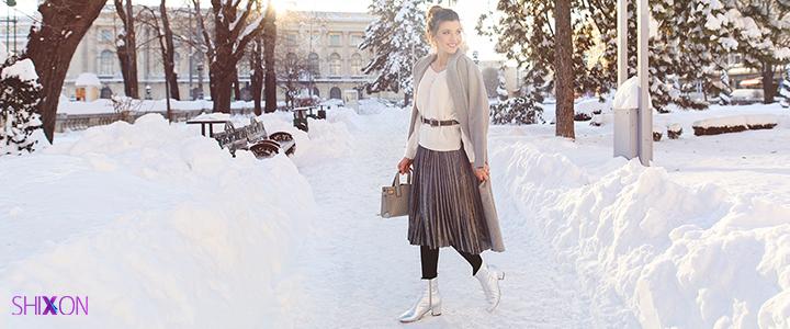 خانم ها در روز های برفی و زمستان...