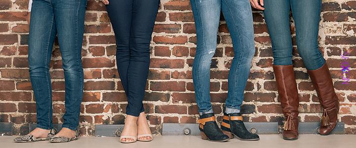 با شلوار جین جذب چه کفش هایی بپو...