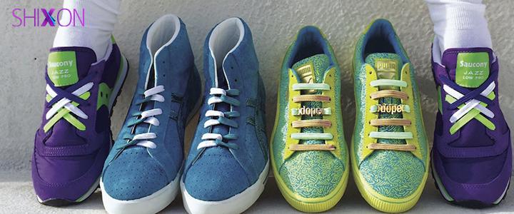 بند کفش هایتان را به مدل های زیب...