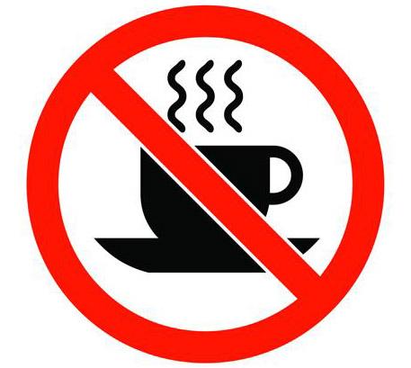 No coffee Allowed