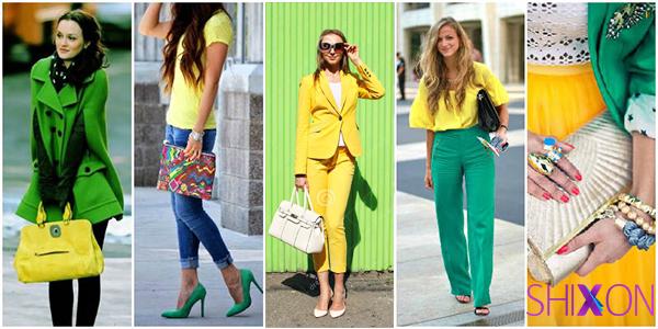 ست سبز و زرد