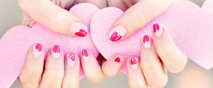 10 ایده طراحی ناخن برای ولنتاین