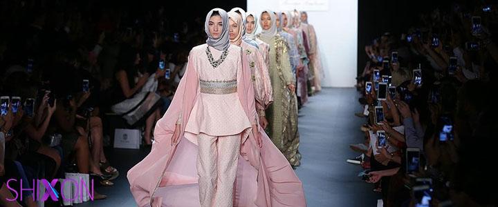 حضور حجاب برای اولین بار در هفته...