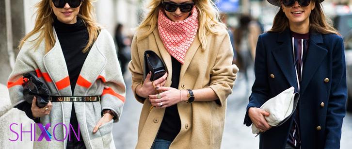 10 رنگ مناسب لباسهای پاییز و زمستان