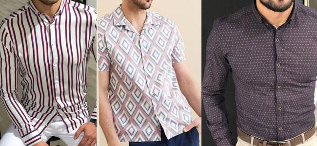 تصویر مدل جدید پیراهن مردانه 2019