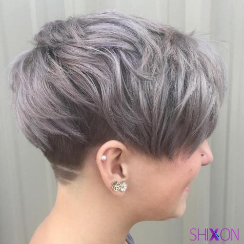 مدل موی کوتاه برای صورت گرد