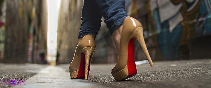 کفش مناسب برای خانم های قد کوتاه...