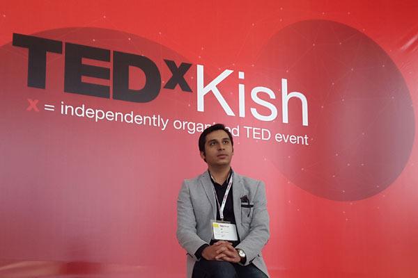 شیکسون برنده جایزه تدکس کیش