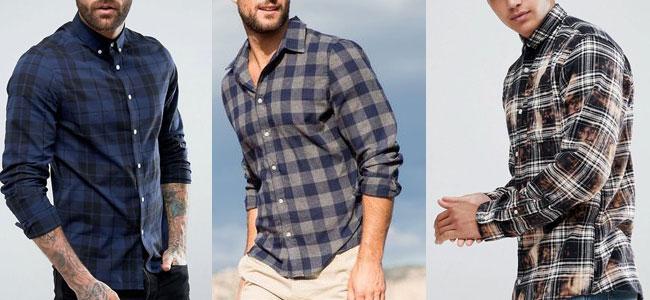 پیراهن مردانه چهارخونه 2019