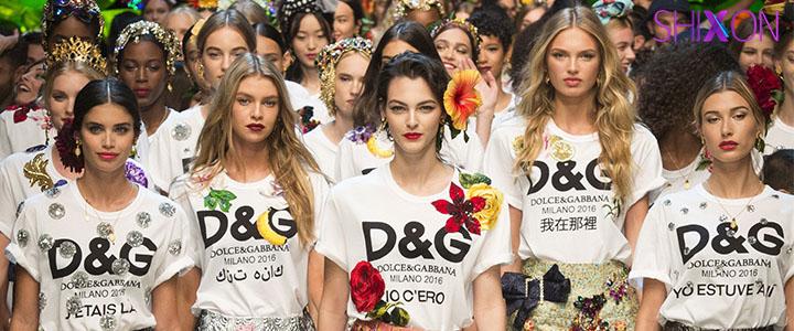 درخشش لباس های زیبایD&G  درهفته ...