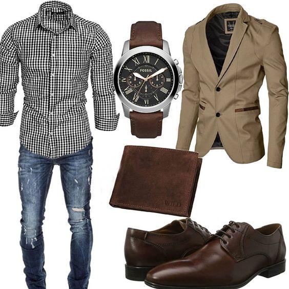 اصول ست کردن پیراهن مردانه با کت تک