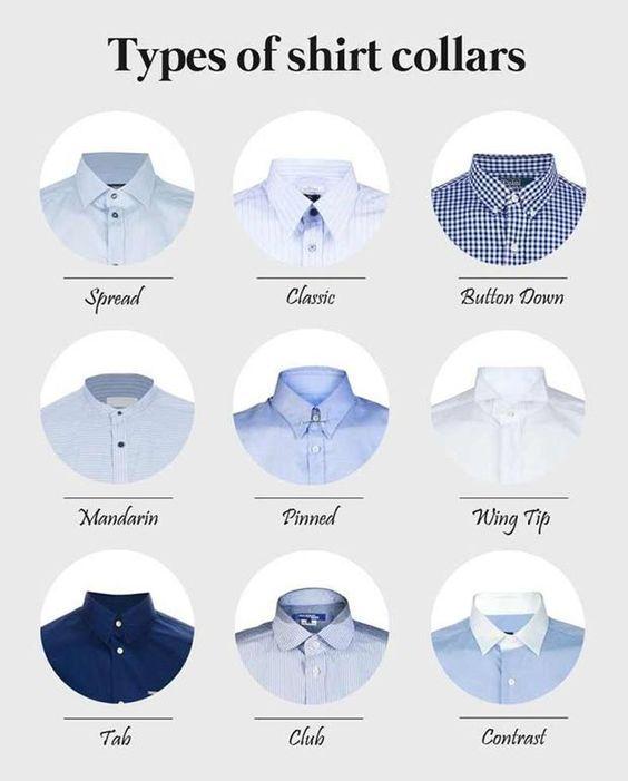 مدل یقه پیراهن مردانه 2019